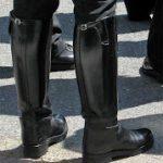 Bike Cop Boot Advising