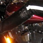 Wesco Boots on the Harley
