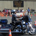 Motorcycle Cop Rodeo