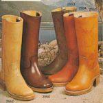 Vintage Frye Boot Catalogs