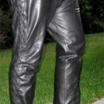 Wearing Leather Around Town