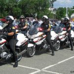 Law Ride: BMWs and Harleys