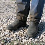 Traveling with Dirty Engineer Boots