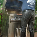 Grillin' in Boots and Leather