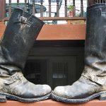 Hard-workin' Old Chippewa Engineer Boots