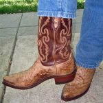 My Review of Lucchese 1883 full quill ostrich western boots – snip toe
