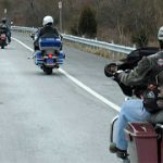 How Does a Typical Group Motorcycle Ride Work?