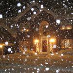 Snowy Evening Beauty
