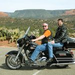 Two Guys on a Harley