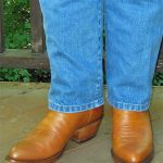 Cognac Boots and Blue Jeans