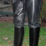Fitting of Leather Breeches or Jeans