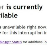 Blogger Was Down