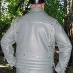 Custom Grey Leather Gear