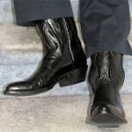 Most Common Cowboy Boot Heel Style