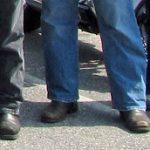 Evidence: Harley Riders' Footwear