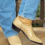 Measuring Men's Boot Heel Height
