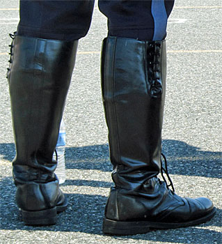 Boots on Cops   BHD's Musings