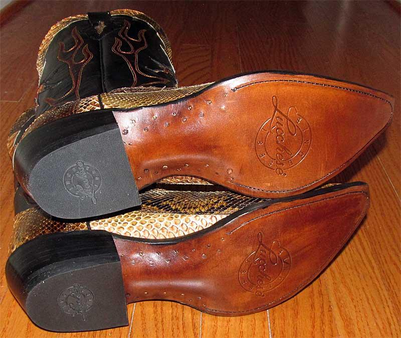 Pegged Cowboy Boots