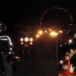 Winter Ride Through a Lightshow!