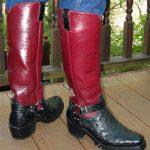 Boots At Work — Ostrich Redux