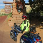 Utah:  Riding in Zion National Park
