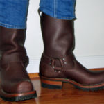 My Last Motorcycle Boots